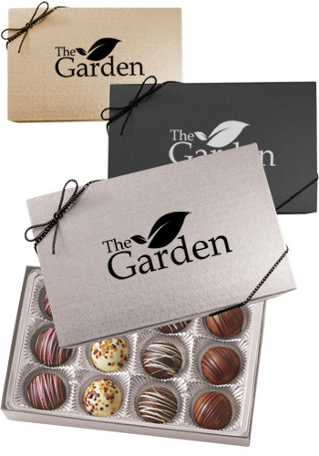 Gift Box with 12 Truffles | CIBT12