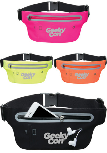 Customized Lycra Smart Belt Waist Packs