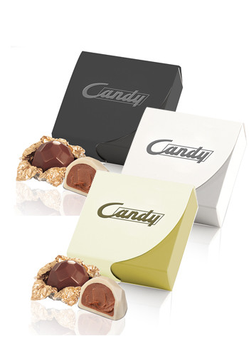 Wholesale F-piece Belgian Chocolate Gift Boxes