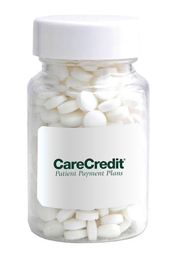 Custom small clear pill bottles 60 cc drpbcs for Small pill bottles