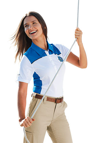 Women's Martis Short Sleeve Polo Shirts | LETM96208