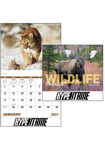 Wildlife Portraits - Stapled Calendars | X30198