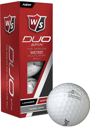 Wilson Staff DUO Spin Golf Balls | PCGWDUOSF