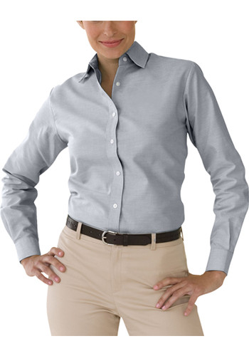 Womens Velocity Repel and Release Oxford Shirts | VA1211