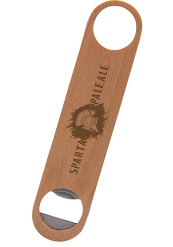 Bulk Wood Paddle Bottle Openers