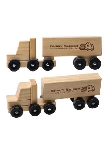 Wooden Semi Trucks | IL278