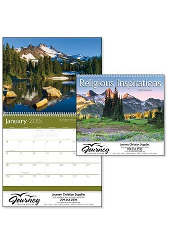 Customized Religious Inspirations Calendars