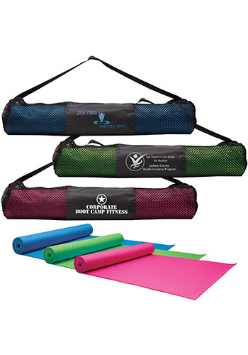 Personalized Yoga Fitness Mats & Carrying Cases