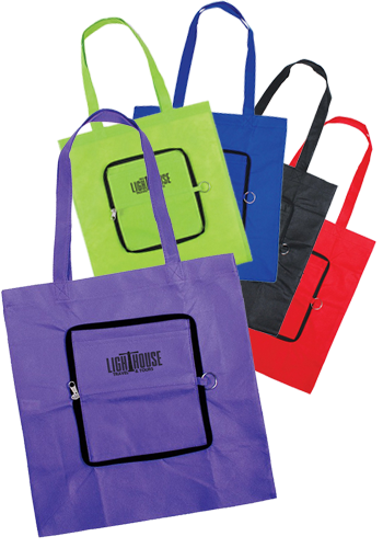 Wholesale Zippin Tote Bags