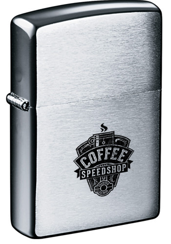 Promotional Zippo Brush Chrome Windproof Lighters