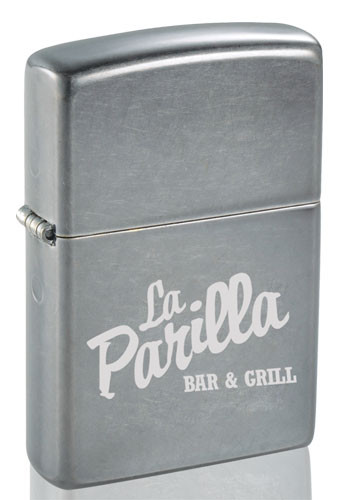 Customized Zippo Windproof Gray Dusk Matte Lighters