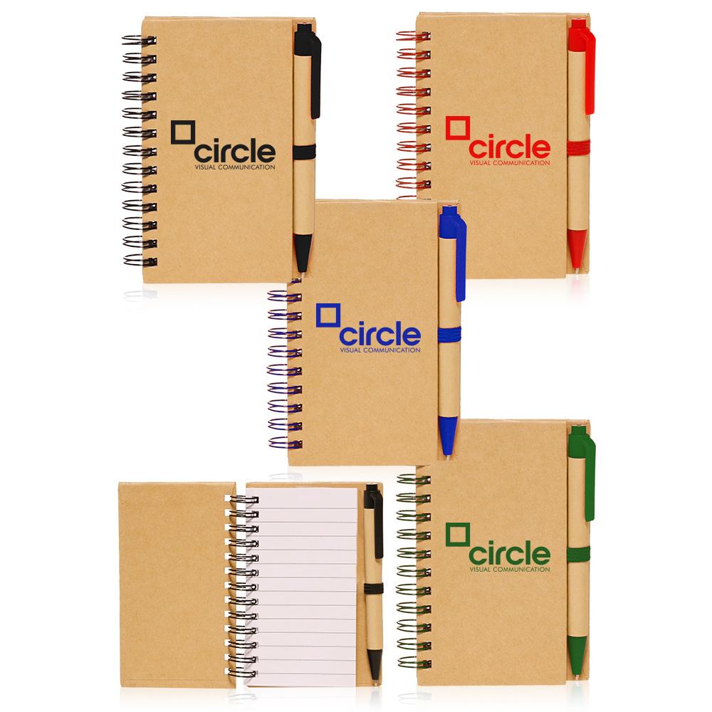 Custom Mini Spiral Notebooks Not46 Discountmugs