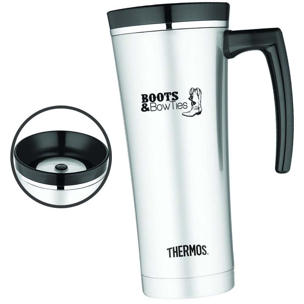 5255a61edf6 16 oz. Thermos Sipp Travel Mugs. FREE SHIPPING ON THIS ITEM OVER $75. More  Images. Gallery; Gallery1; Gallery2. 0. 16 oz. Thermos Sipp Travel Mugs ...
