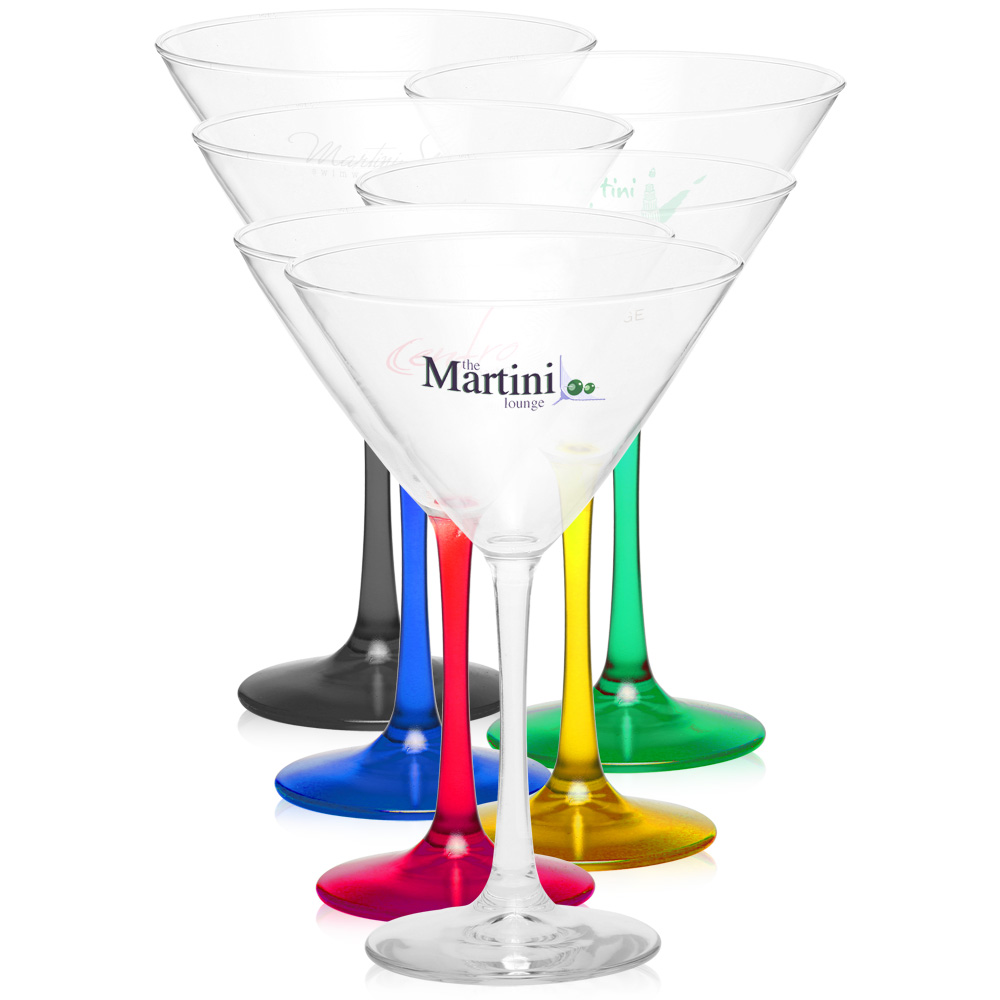 10 oz luminarc connoisseur martini glasses