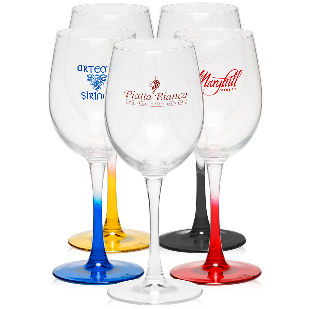 wholesale 12 oz arc connoisseur white wine glasses