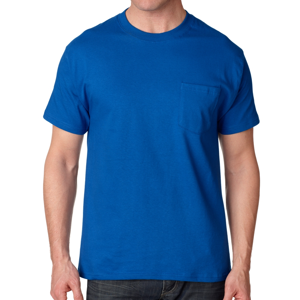 0eba00ee Printing Hanes Tagless Beefy-T T-shirts with Pocket | 5190 ...