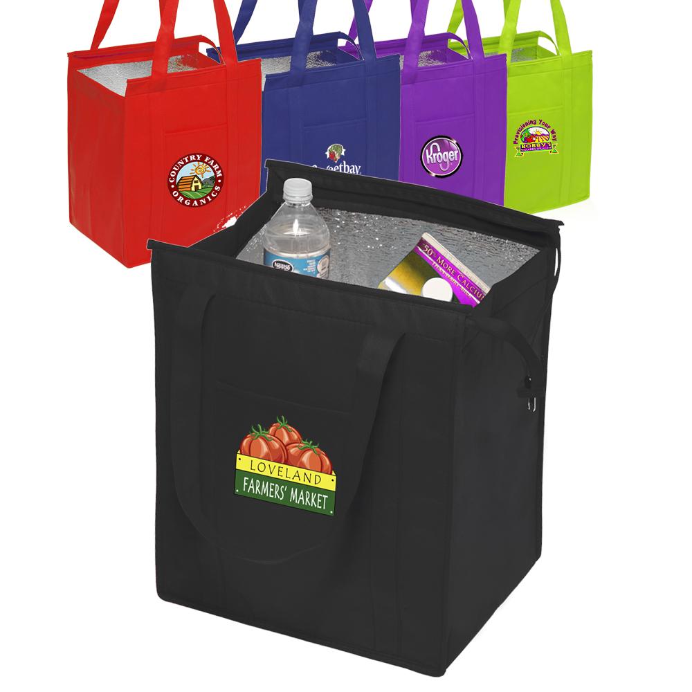 Custom Reusable Bags - Shopping & Grocery Bags | DiscountMugs