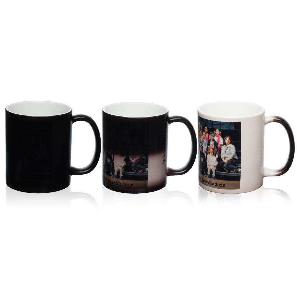 Custom 11 Oz Magic Photo Mugs S7102bk Discountmugs