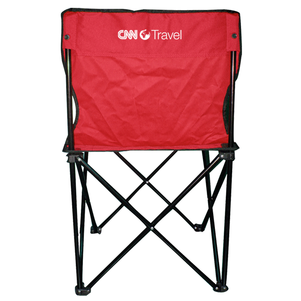 Printed Price Buster Folding Chairs with Carrying Bag