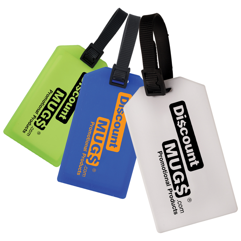 Personalized Business Card Luggage Tags | CRBUSCLGTG - DiscountMugs