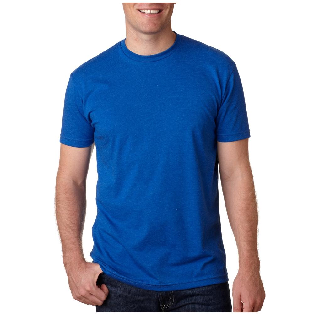 7dedff2ce69 Printed Next Level Mens CVC Crew T-shirts