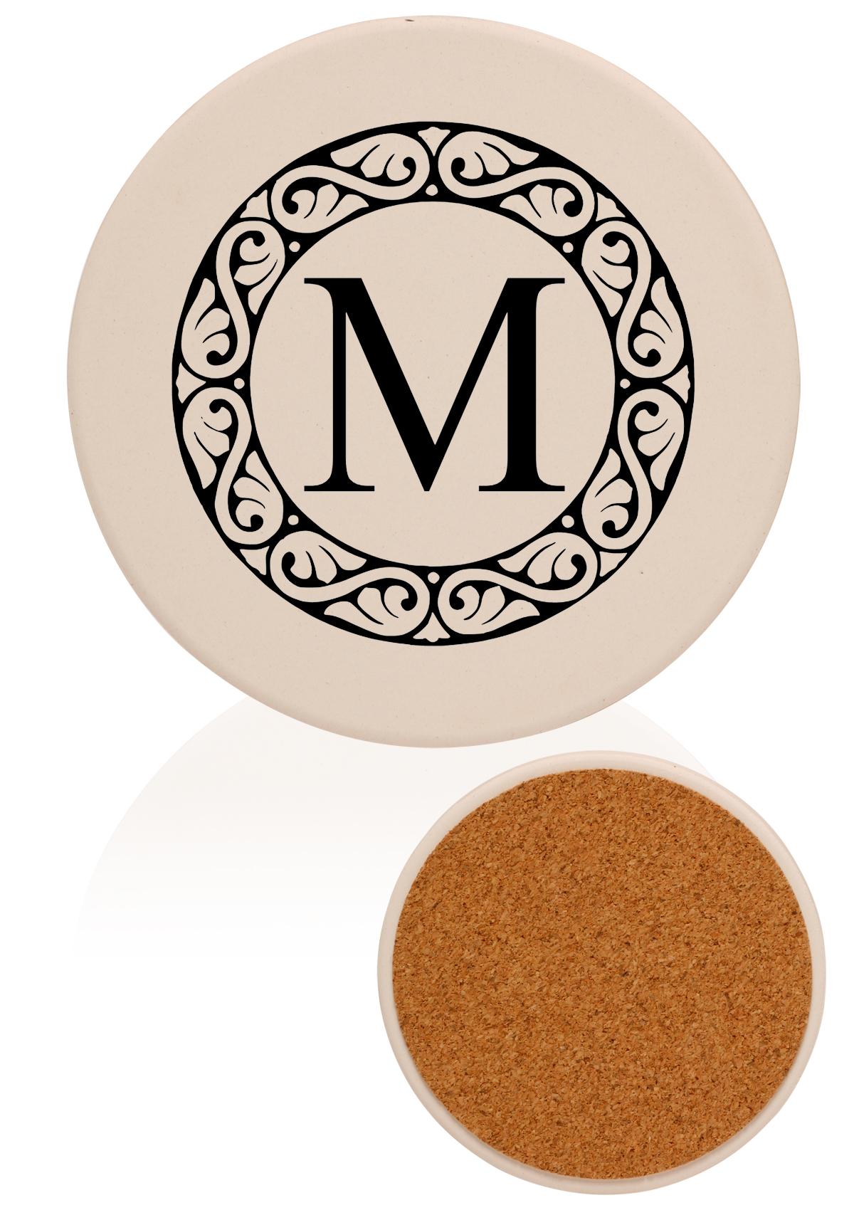 Personalized Ceramic Coasters I Custom Printed Round Coasters I ...