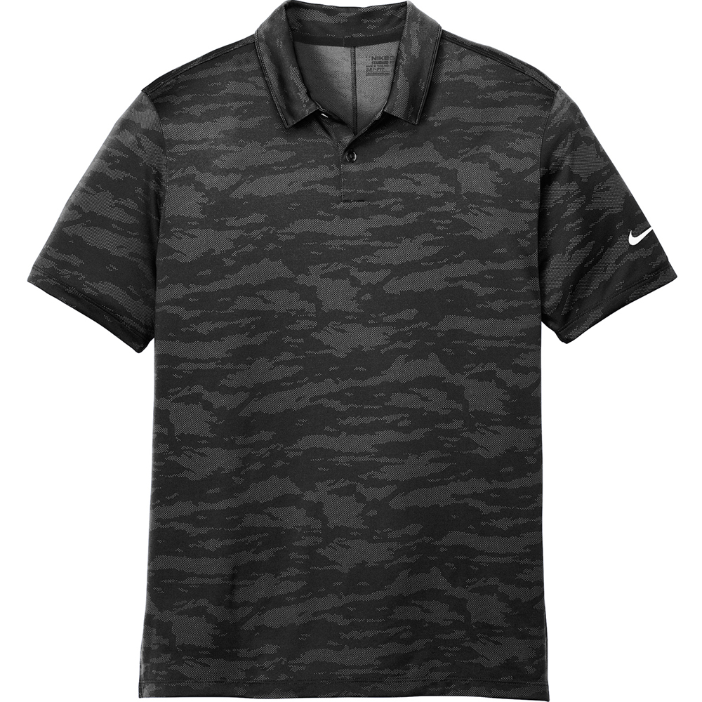 Custom Nike Dri Fit Waves Jacquard Polos Sankaa1852 Discountmugs