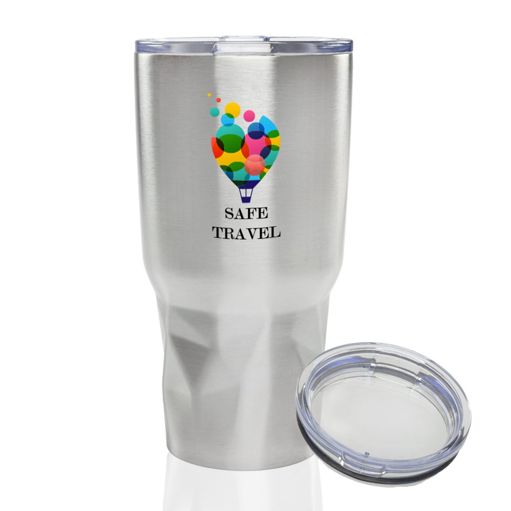 Personalized Stainless Steel Tumblers & Metal Travel Mugs | DiscountMugs