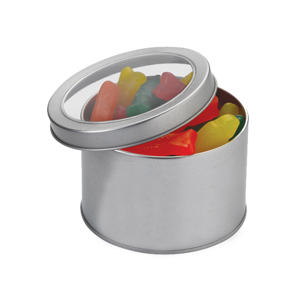 Bulk Munchies Large Round Metal Tins Suwtclgmunchies