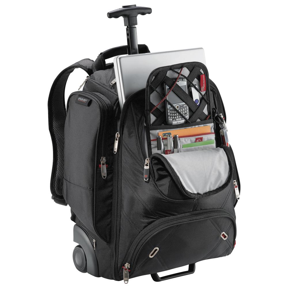 personalized wheeled security friendly compu backpacks le001129 discountmugs. Black Bedroom Furniture Sets. Home Design Ideas