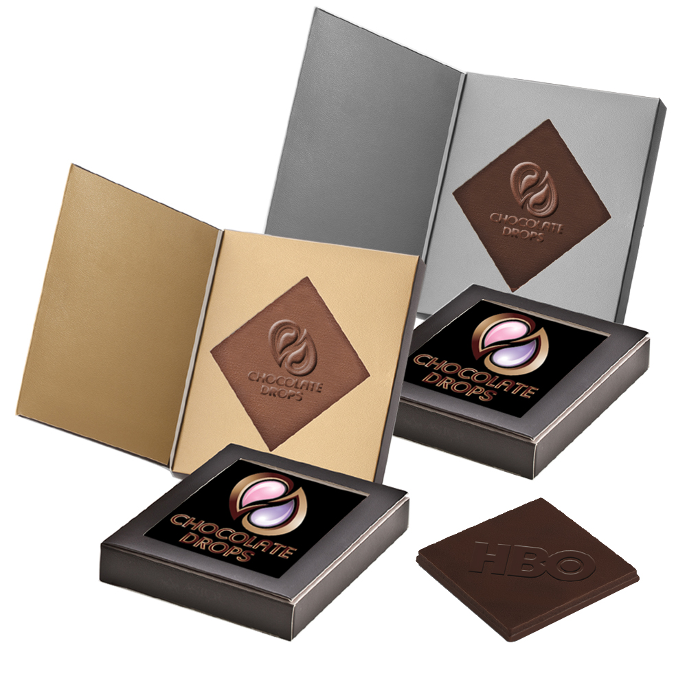 Personalized 15oz Belgian Chocolate Greeting Cards X10328