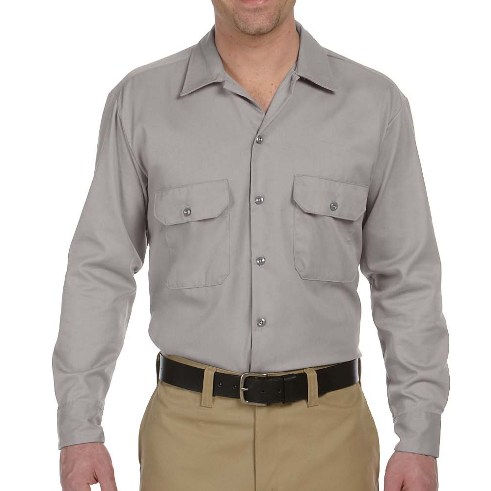 9e87f4b4bb1 More Images. Gallery 1; Gallery 2 · Dickies Adult Long-Sleeve Work Shirts  ...