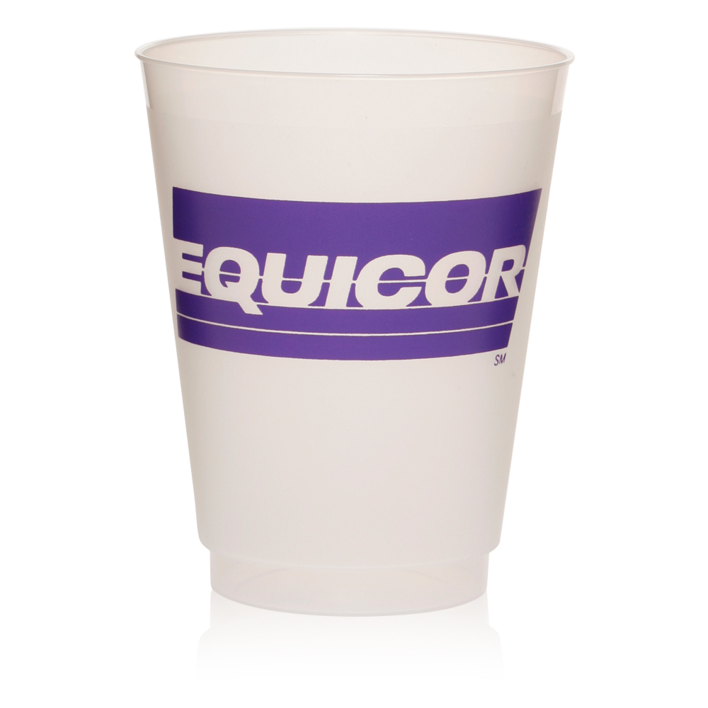 Custom 16 Oz Frosted Plastic Party Cups Dc16pf