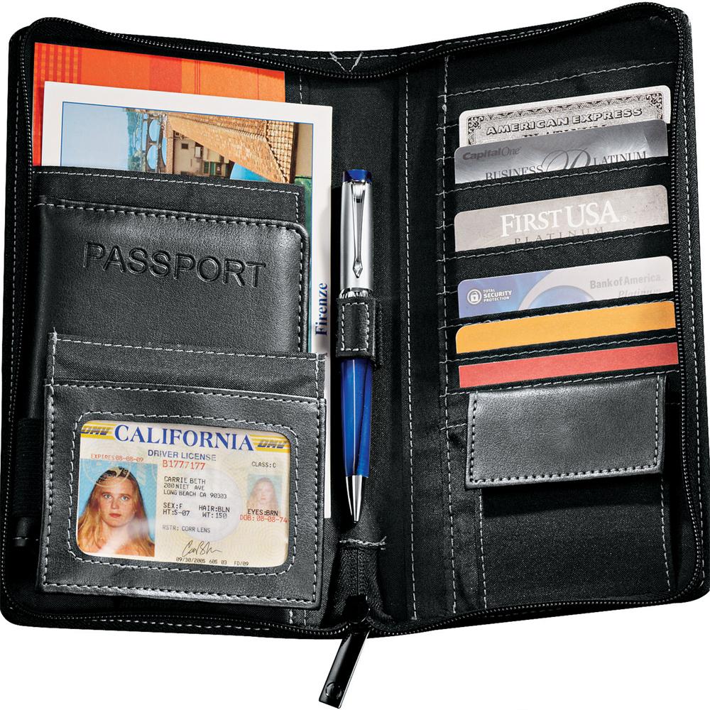 Personalized Metropolitan Deluxe Travel Wallets Le110065