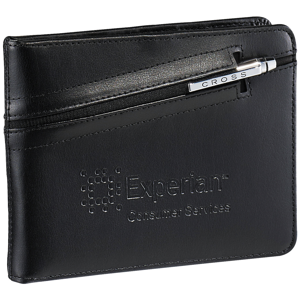 how to get pen out of leather wallet