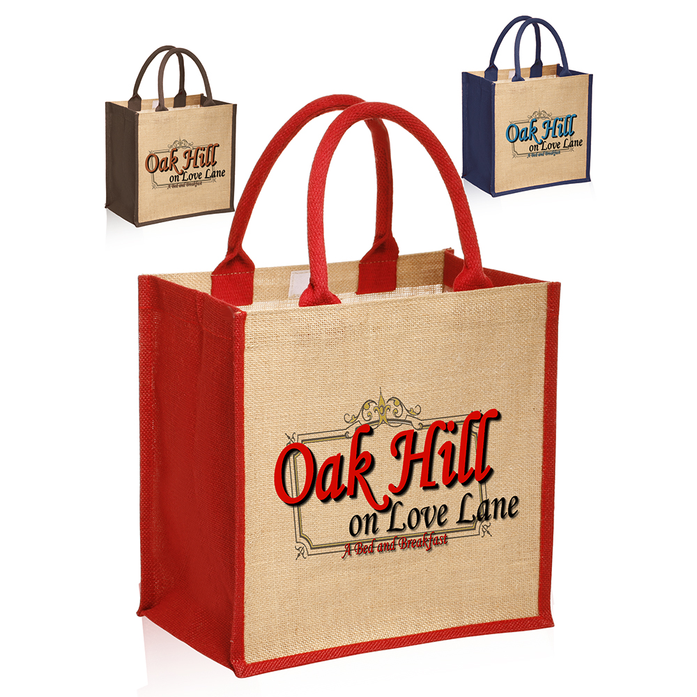 Whole Stylish Rope Handle Jute Bags