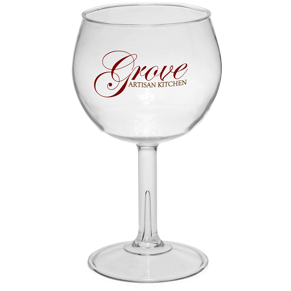 Personalized 18 5 oz large plastic red wine glasses Large wine glasses cheap