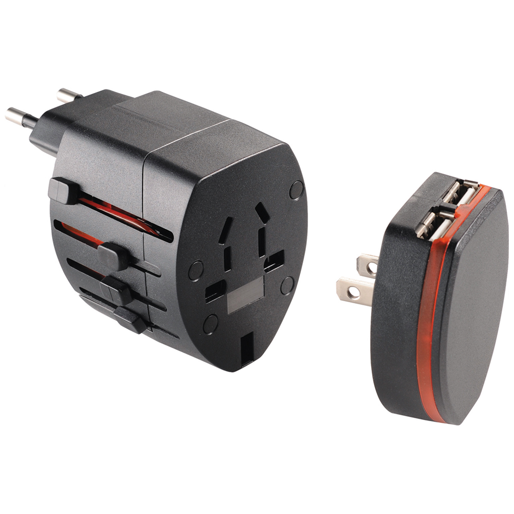 Custom World Travel Adapters Le166071 Discountmugs