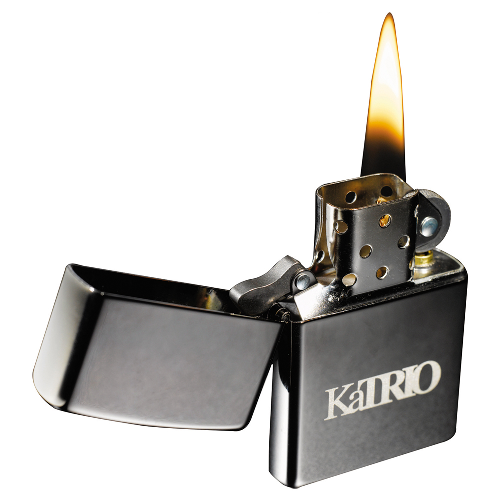 Personalized Zippo Black Ice Windproof Lighters Le755022