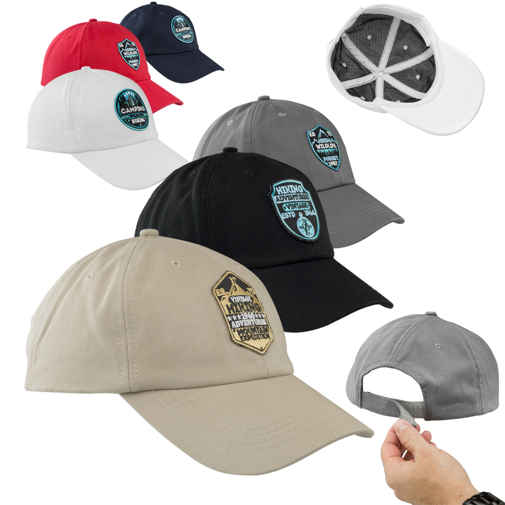 meet 09d28 92c6a Personalized ACE Structured Baseball Caps   CAP94 - DiscountMugs