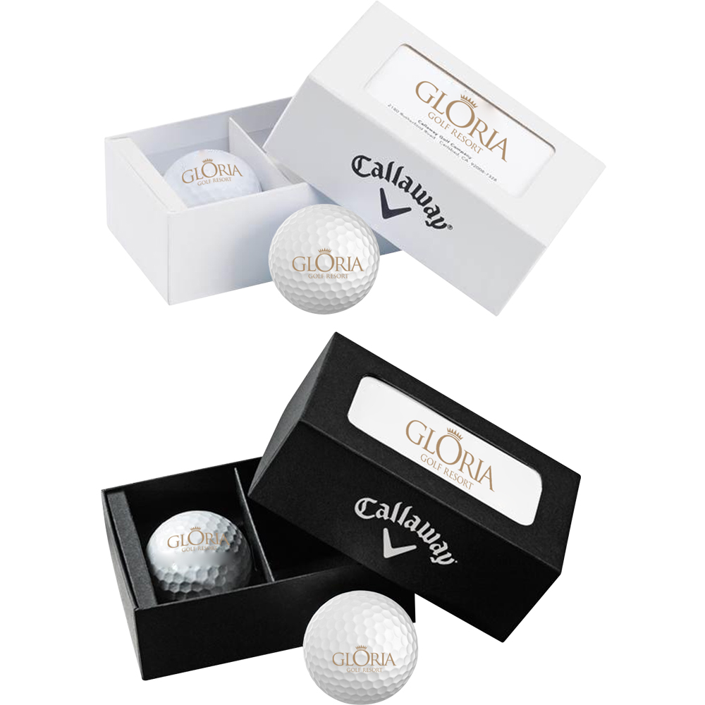 Custom Callaway Warbird 2-Ball Business Card Boxes |PCGCBCB ...