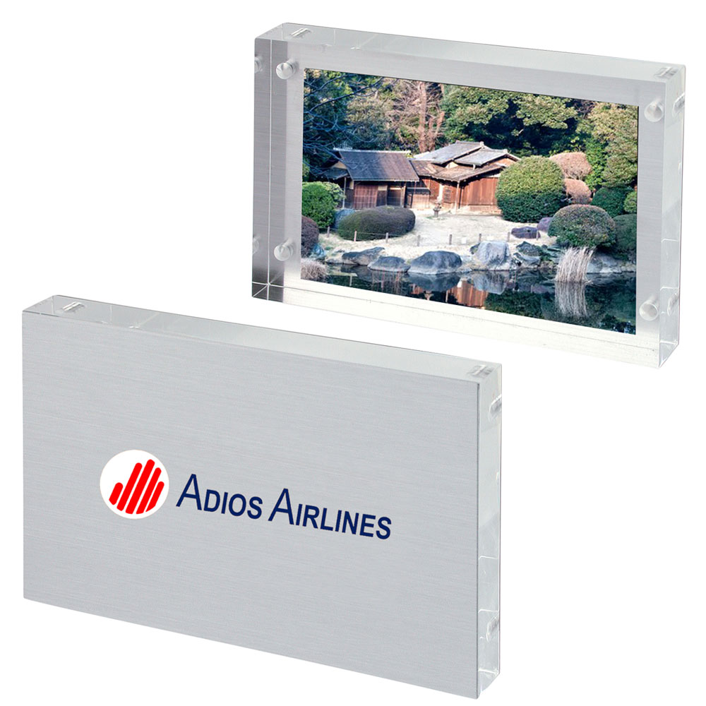 be987838a1f Personalized 4W x 6H inch Frameless Photo Frames