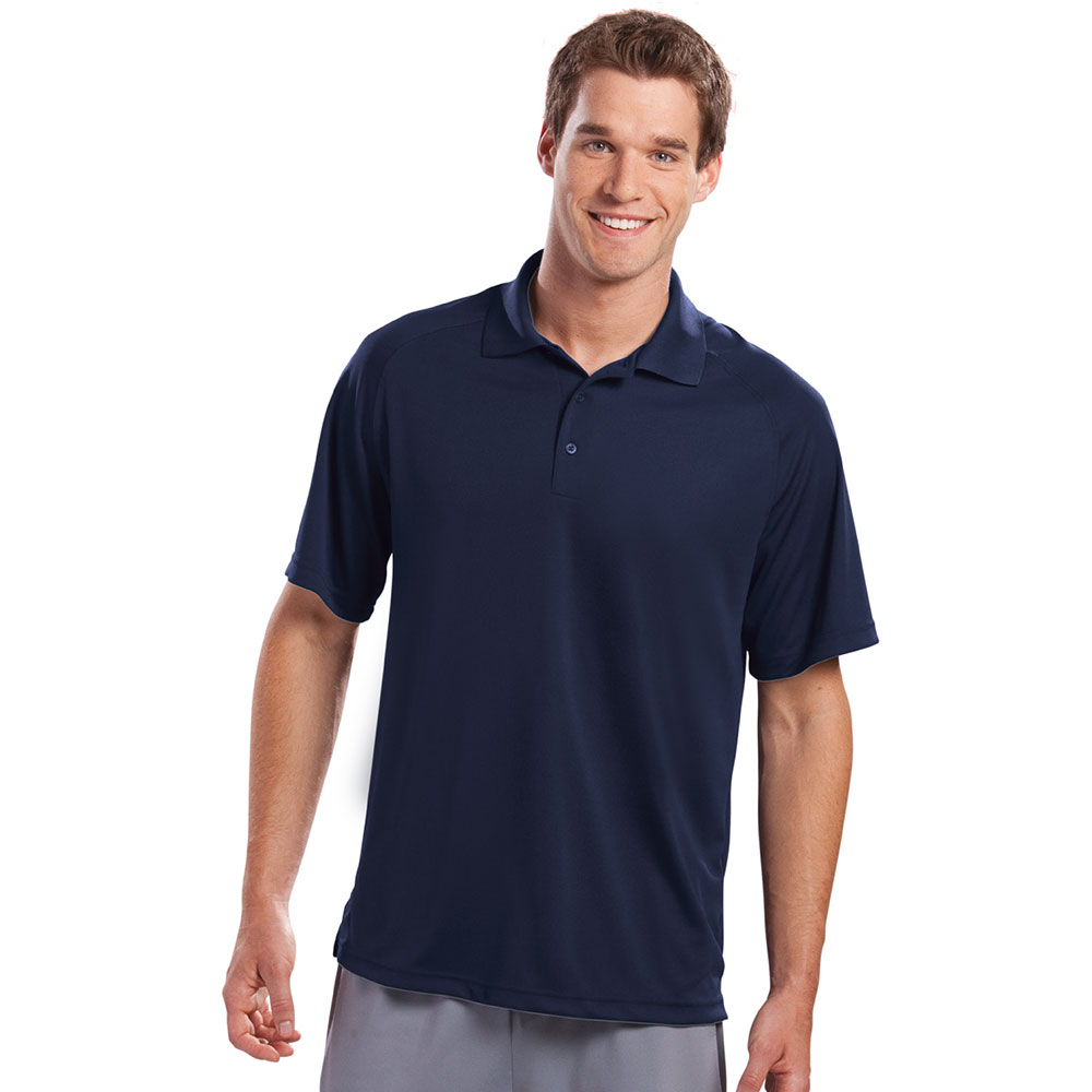 Sport Tek Customized Mens Dry Zone Raglan Polo Shirts