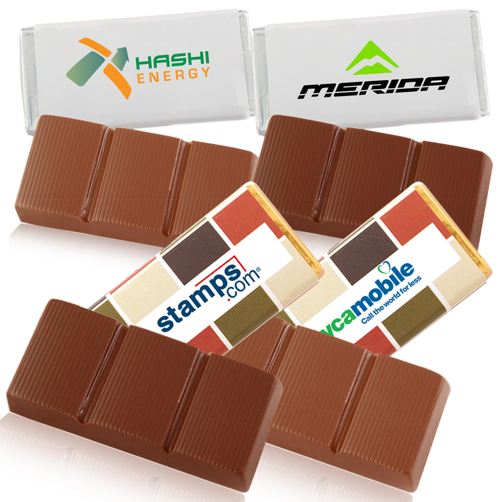 Personalized 1 Oz Belgian Chocolate Bars X10300
