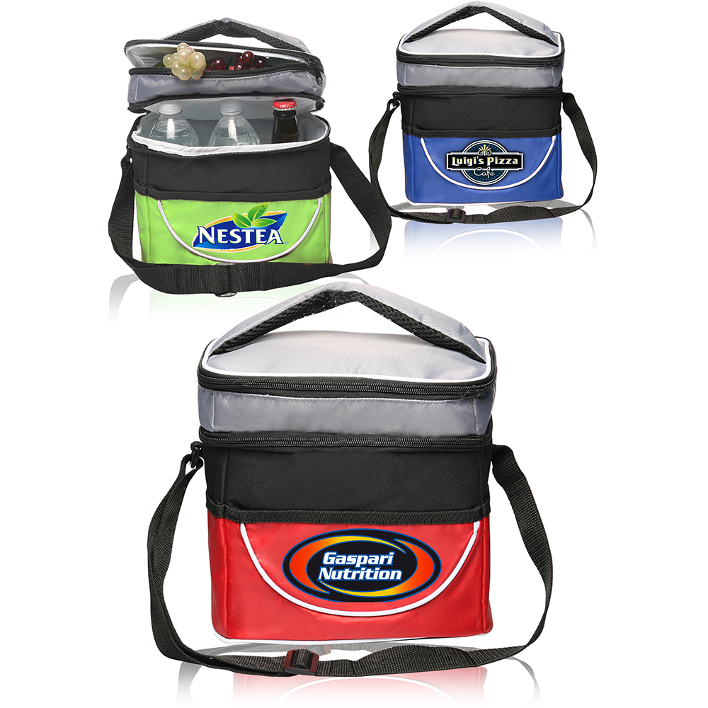 Custom Promotional Bulk Company Polyester Lunch Bags