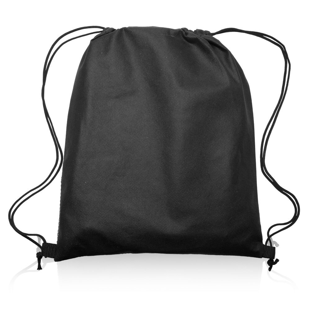 Personalized 13W x 15H inch Mesh Pocket Drawstring Backpacks ...