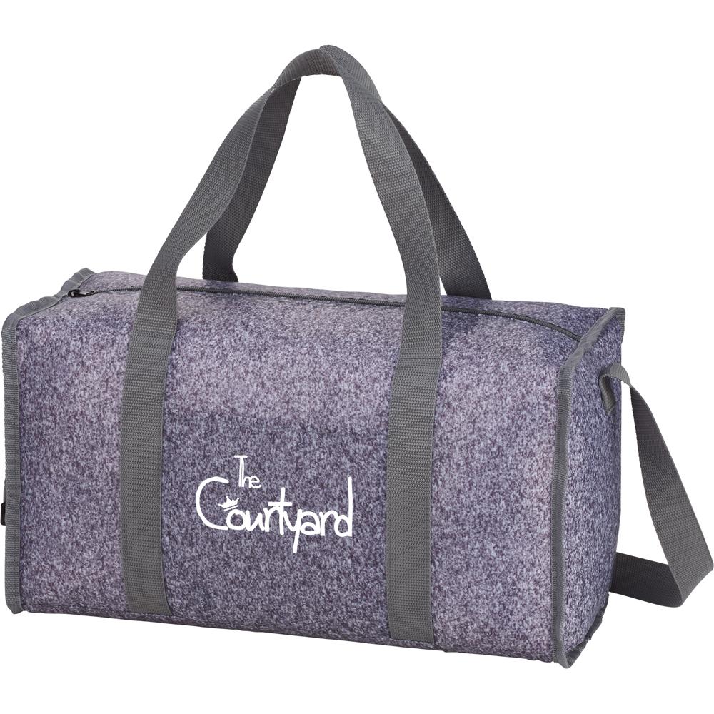 Asphalt Compact Duffel Bags | SM5871