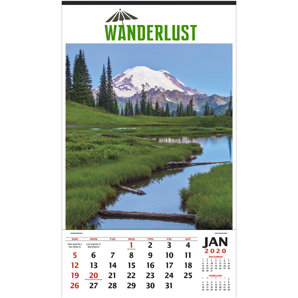 Custom Vertical Hanger Triumph Calendars
