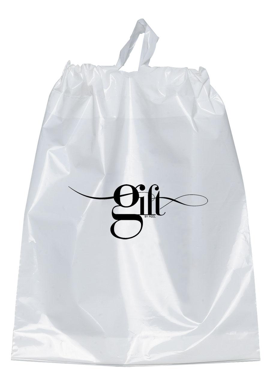 drawstring plastic bags - Custom Plastic Bags