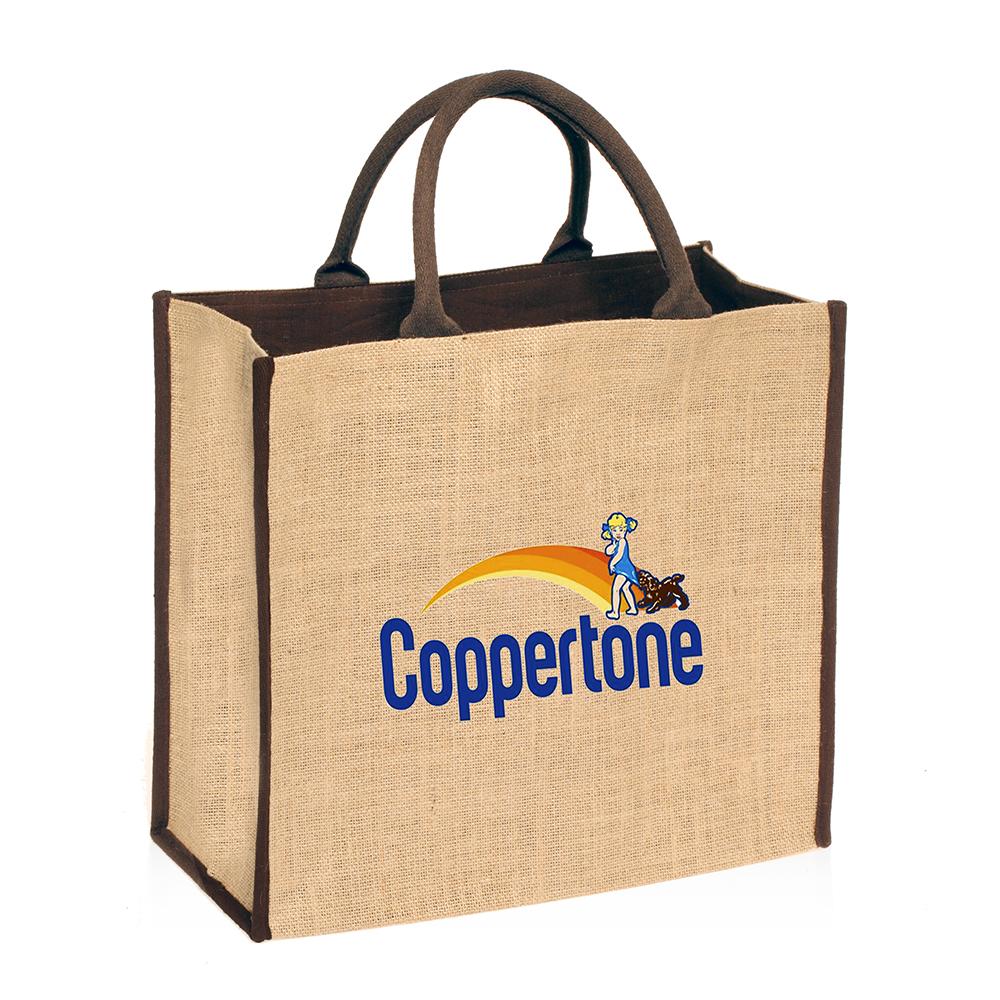 promotional square jute bags